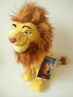 "BNWT Disney store the lion king mufasa dad 15"" soft toy plush VGC"