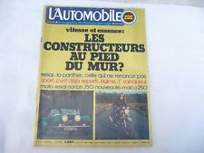 MAGAZINE L'AUTOMOBILE SPORT MECANIQUE n° 333 -  FEVRIER 1974