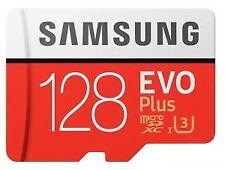 128GB Micro SD SDXC Samsung EVO Plus UHS-I U3 Card with Adapter