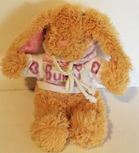 "Bears2go Plush Bunny Rabbit Dressed In Hoodie Stuffed Animal Toy Plush 11"""