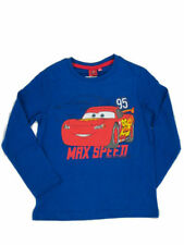 T-shirts, débardeurs et chemises bleu Disney à manches longues pour garçon de 2 à 16 ans