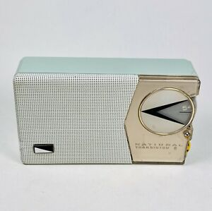 NATIONAL EB-180 Vintage Transistor Radio Japan All Original SONY Transistors