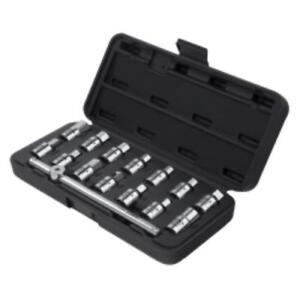 Sunex 8846 Tools 15-piece 3/8 In. Drive Drain Plug Key Set