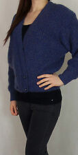 Women's Chunky, Cable Knit Knit Waist Length Button V Neck Jumpers & Cardigans