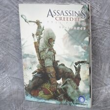 ASSASIN'S CREED III 3 Reference Guide Book PS3 Xbox WiiU Ltd Booklet *