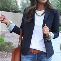 GAP / *NEW* Women's Navy Academy Blazer / Wool Blend Fully Lined / Size 4