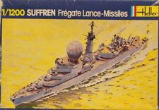 Heller 1:1200 Suffren Fregate Lance-Missiles Plastic Model Kit #033U