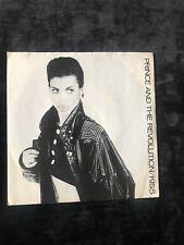 "PRINCE AND THE REVOLUTION - ""KISS"" 7"" VINYL LP 1986 WARNER BROS 45 RPM"