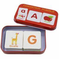 Anti Riss Flash Karten Lernen Alphabet Puzzle Karten, Passende Puzzle Cogni V2S5