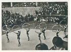 Team Portable Apparatus Gymnastics Gymnast USSR RUSSIA OLYMPIC GAMES 1952 CARD