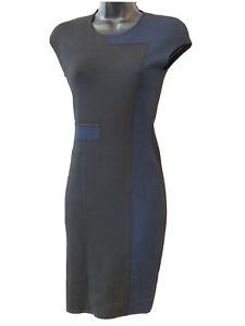 ALEXANDER WANG~BLUE COLORBLOCK  DRESS ~ SIZE S NEW