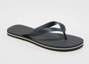 Goodfellow & Co Men's Brent Flip Flop Sandals Flip Flop Size L 11/12