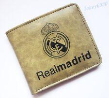 For Real Madrid wallet soccer mens ID Card Holder Billfold bifold Purse YKJR20