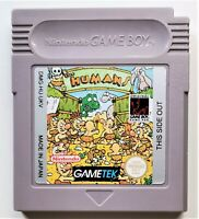 The Humans Video Game for Nintendo Game Boy TESTED