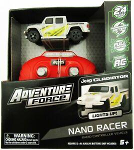 Nano Racer RC Car ~ Jeep Gladiator ~ Adventure Force ~ Radio Control Fun