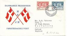 Denmark 24 August 1964 Typed First Day Cover My Ref 1096