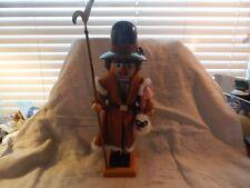 """Vintage Steinbach Wooden Shepherd Nutcracker 16"""""""
