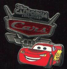 DCA Cars Land Logo Lightning McQueen Disney Pin 89850