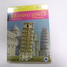 PISA THE FAMOUS TOWER OF ROME ITALY 3D Puzzle 4 SHEETS Education LARGE MODEL