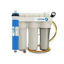 Osmoseur aquarium et manomètre 100 GPD 4 étapes de filtration