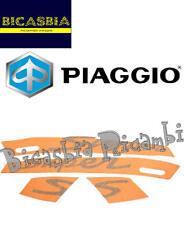67333600A4 ORIGINALE PIAGGIO ADESIVI ARANCIONI VESPA 125 250 300 GTS SUPER SPORT