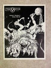 TSR RPGA NEWS 1981-1982 Issue 3 Volume 1 Number 3 Magazine AD&D Gygax VF #T954