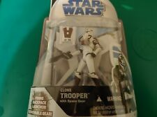 Hasbro Star Wars Clone Wars Animated Clone Trooper Space Gear Action Figure