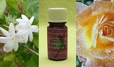 Jasmin-Rose Ethanol mit 2% Jasmin und Rose absolue 5 ml EUR 60,00/100 ml