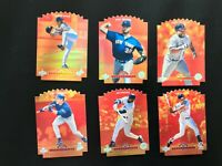 1996 Upper Deck Hot Commodities 6 Card Lot Kirby Puckett + More