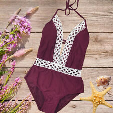 2018 Women One-Piece Swimsuit Beachwear Swimwear Push-up Monokini Bikini Bathing