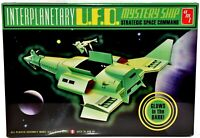 AMT INTERPLANETARY UFO Mystery Ship Strategic Space Glow Dark Model Kit NIB e169