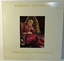 Barbara Mandrell: Christmas At Our House. 1984 MCA-5519 1st Pressing PROMO