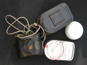 Vintage Cased Weston Master V Exposure Meter