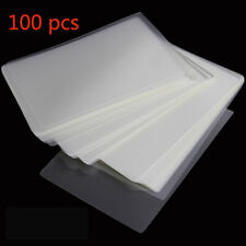 100 Pcs 6 Laminating Pouches Film Sheet Protection Photo Paper Files Card Film
