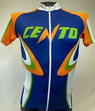 Classic Cycling Jersey - Arancia - Full Zip - Made in Italy by GSG for Cento