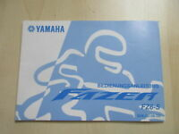 Yamaha FZ6-S Fazer Manual Log Book German 5VX-28199-G2