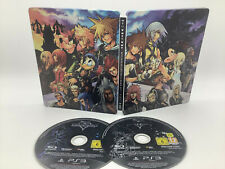 Kingdom Hearts HD 1.5 2.5 Remix Steelbook Edition PlayStation 3 PS 3