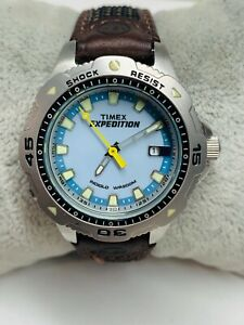Ladies TIMEX Expedition Diver WR 200m INDIGLO Watch  New Battery