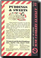 Puddings and Sweets - World War 2 food leaflet