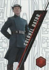 2016 Topps Star Wars High Tek Colonel Datoo Form 2 Pattern 3 Card No. 103