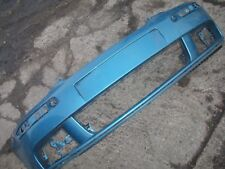 VW GOLF 2003-2009 MK5 FRONT BUMPER DAMAGED SPARES OR REPAIRS BLUE