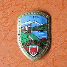 Silvretta Alps  Hiking  Medallion Stocknagel Badge Shield Ötscherhaus Austria