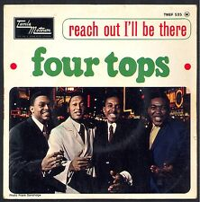 FOUR TOPS REACH OUT I'LL BE THERE 45T EP BIEM TAMLA MOTOWN TMEF 535