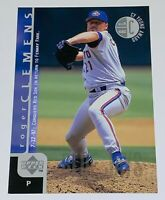 1998 Upper Deck Jumbo 5x7 Roger Clemens #530 MLB Toronto Blue Jays Baseball Card