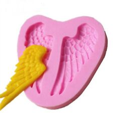 Silicone Cake Mold Birthday Cake Decorating Angel Wings Chocolate Soap Mold