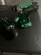 NEW HITACHI 18V CORDLESS 2 PIECE COMBO KIT, HAMMER DRILL, IMPACT DRIVER KC18DGL