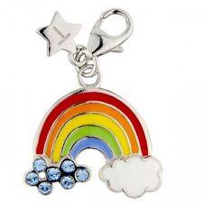 Silver Charm TINGLE RAINBOW, New,Bracelet Charms, SCH206, Jewellery, Boxed