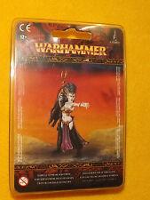 Dark Elf Supreme Sorceress Miniature warhammer Fantasy sealed 85 34