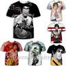 Sexy Bruce Lee 3D Print Casual T-Shirt Fashion Mens Womens Short Sleeve Tee Tops