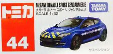 Tomy Tomica No.44 RENAULT MEGANE Sport Gendarmerie 1 : 62